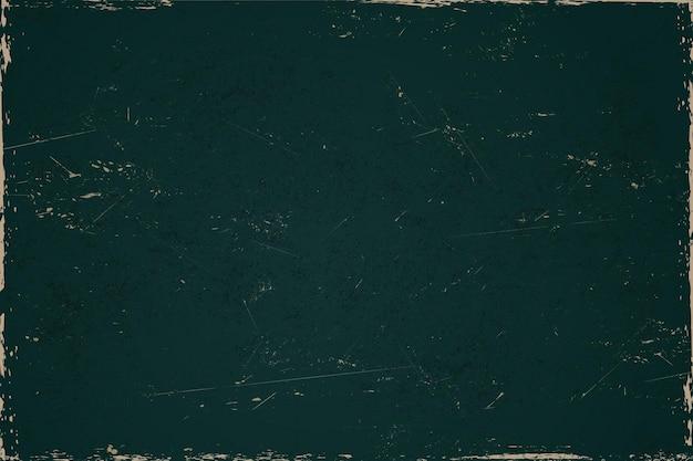 Blank vintage green grunge background