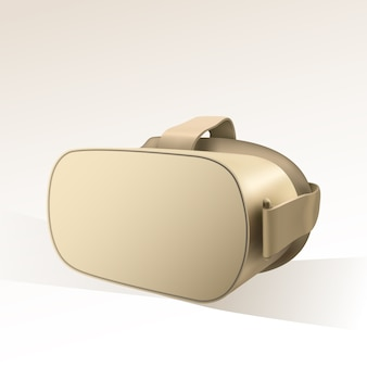 Blank virtual reality glasses