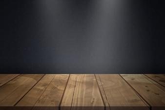 Blank Wood Table