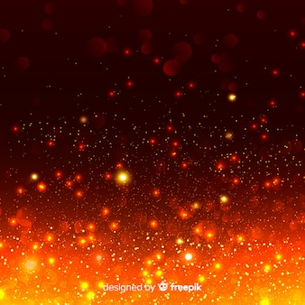 Blazing background