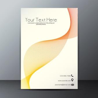 Blending effect neon poster template