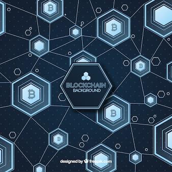 Blockchain background
