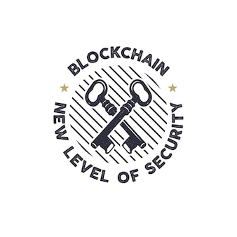 ブロックチェーンロゴ