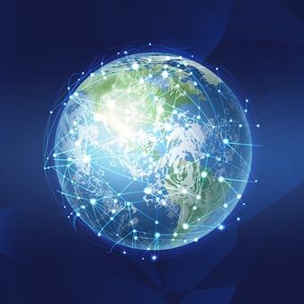 Концепция технологии блокчейн база данных блокчейн данные криптовалютный бизнес Premium векторы
