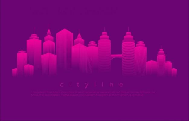 Blocks cityscape illustration
