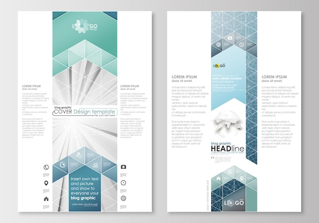 Blog graphic business templates