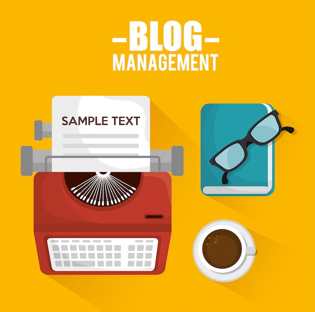 Blog management  design