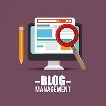 Дизайн блогов