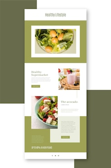 Blogger email template