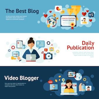 Bloggerバナーセット