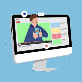 Обзор blogger онлайн-концепции