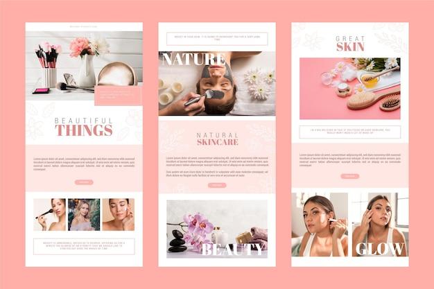 Set di modelli di posta elettronica per blog