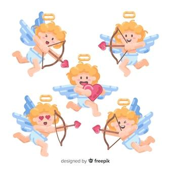 Blonde valentine cupid collection