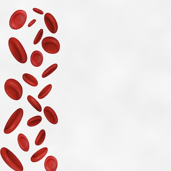 Blood cells background