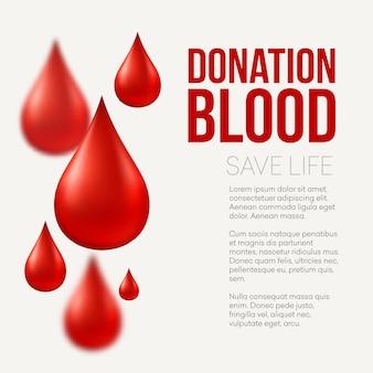 헌혈 의료 배경