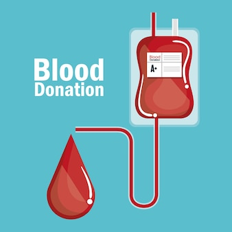 Медицинский значок донора крови