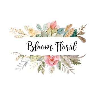 Bloom floral decoration