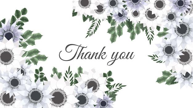 Цветущий цветок цветочный фон шаблон с местом для вашего текста