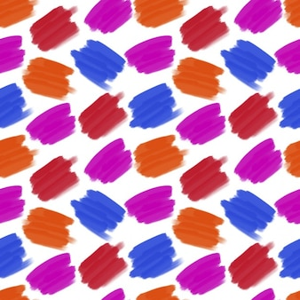 Blots colors of seamless pattern blue redpink color blots