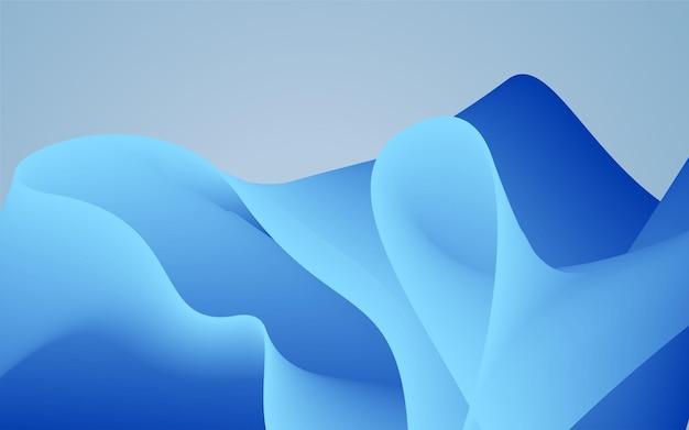 Blue abstrack background vector illustration for desktop