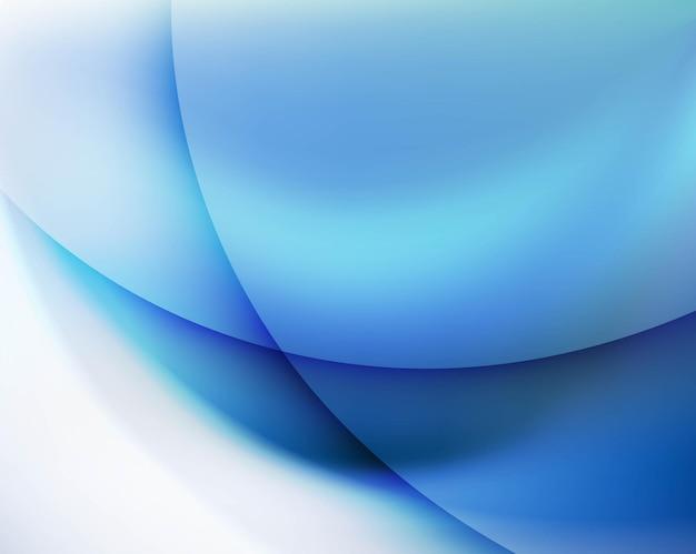 Синий абстрактный фон с белой рамкой