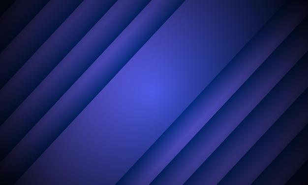 블루 추상적인 배경입니다. 줄무늬로 덮으십시오. 광고, 소책자, 전단지의 패턴입니다. 벡터 일러스트 레이 션. 블라인드 창. 파도.