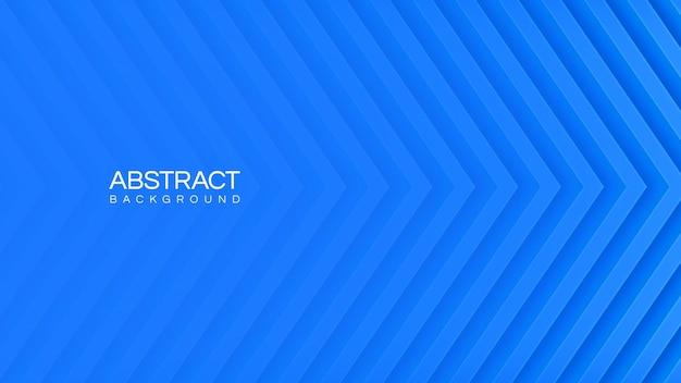 Синий абстрактный фон с линиями