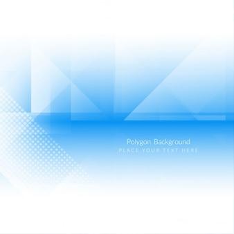 Глянцевая синий цвет многоугольной формы дизайн фона