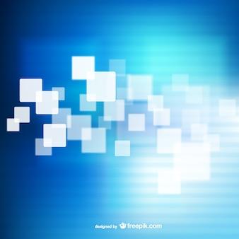 四角ブルー抽象的な背景