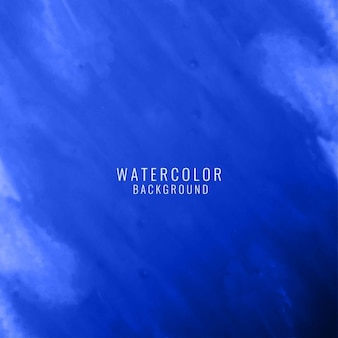 Blue abstract background with watercolor texture