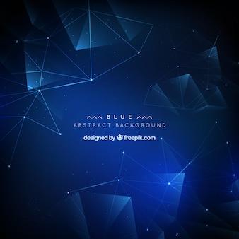 青い抽象的な背景