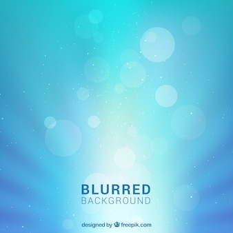 Blue abstract blurred background