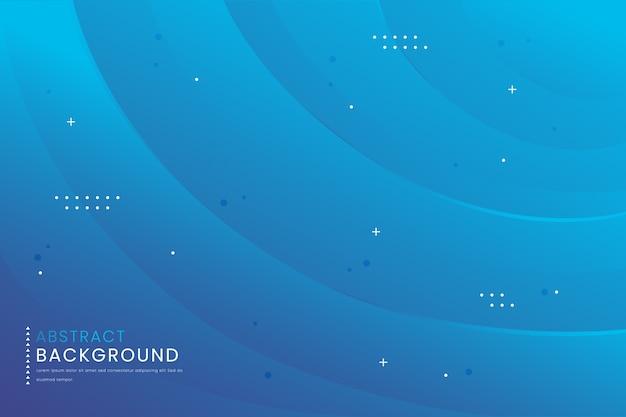 Синий абстрактный градиентный фон