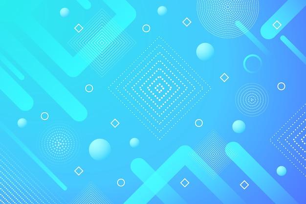 青の抽象的なハーフトーンの背景