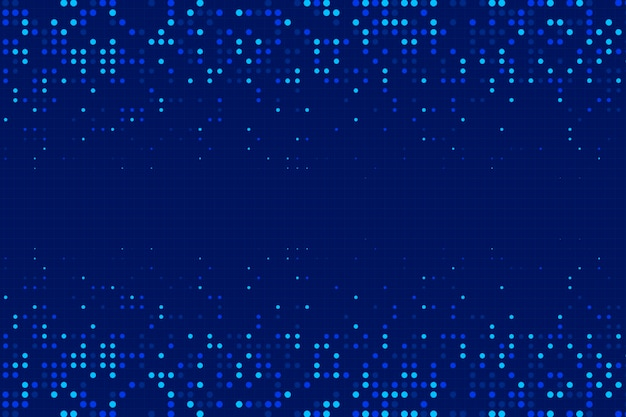 Blue abstract halftone effect background