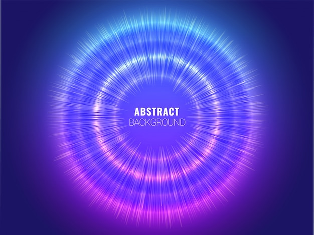 Blue abstract hud and circuit futuristic digital technology background