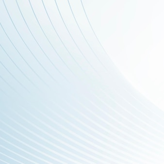 青い抽象的なレイヤードストライプの背景 無料ベクター