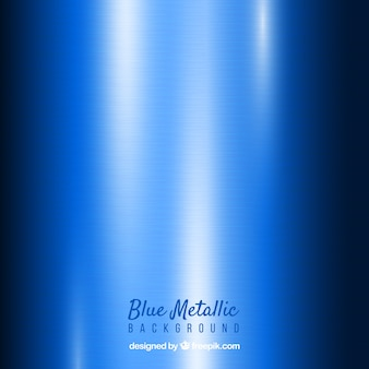 Blue abstract metallic background
