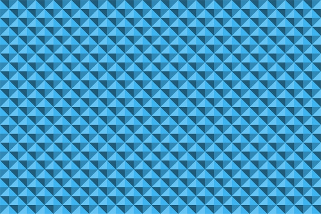 Blue abstract relief pyramid texture seamless pattern
