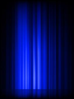 青の抽象的な光沢のある背景。