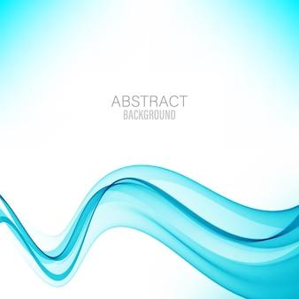 青の抽象的な波抽象的な背景の波