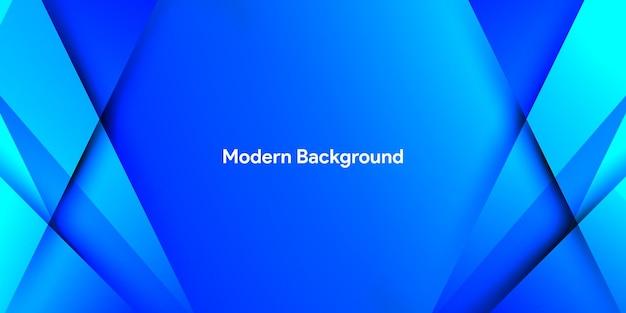 Синий абстрактный с красочным градиентным фоном