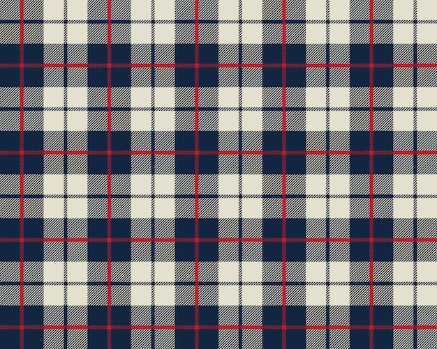 シームレスな青とベージュの布のテクスチャパターン