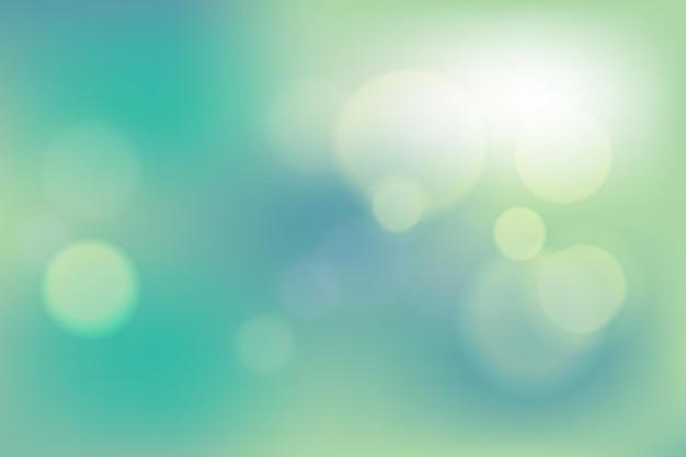 Синий и зеленый вектор абстрактный фон для плаката баннер летом и весной небо с бликами