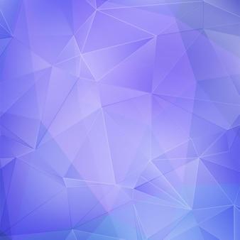 Голубой и фиолетовый геометрический фон
