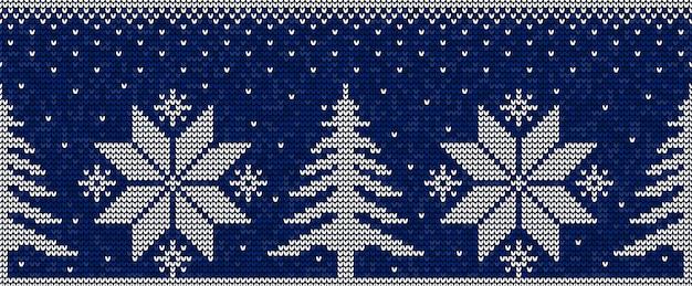 Синий и белый рождественский бесшовный фон фон