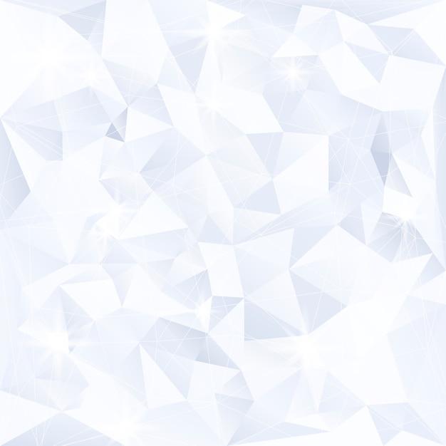 파란색과 흰색 크리스탈 질감 배경