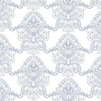 파란색과 흰색 장식 패턴 배경