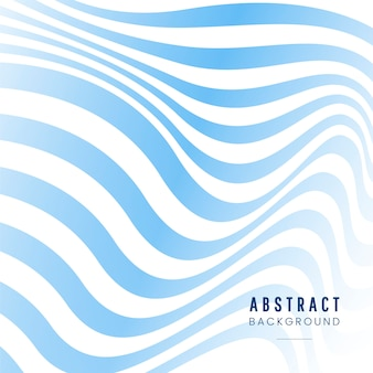Blue and white striped abstract background vector
