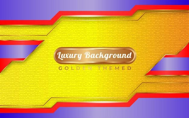 青と黄色の背景ゴールデンスタイル